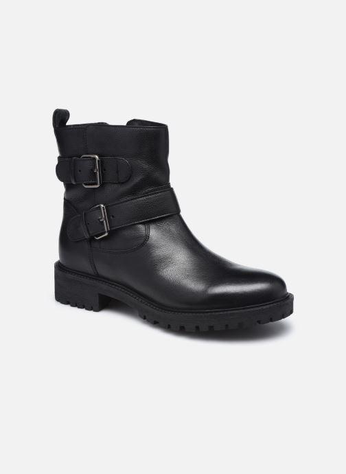Bottines et boots Geox D HOARA D94FTG Noir vue détail/paire