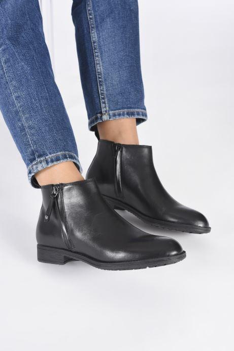 Stiefeletten & Boots Geox D JAYLON D04FYD schwarz ansicht von unten / tasche getragen