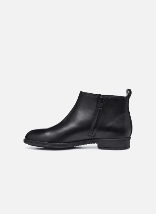 Bottines et boots Geox D JAYLON D04FYD Noir vue face