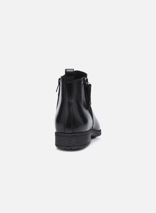 Bottines et boots Geox D JAYLON D04FYD Noir vue droite