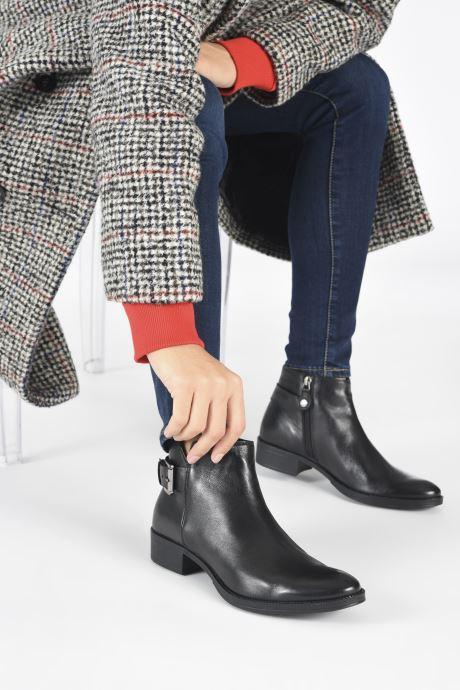 Stiefeletten & Boots Geox D LACEYIN D04BFA schwarz ansicht von unten / tasche getragen