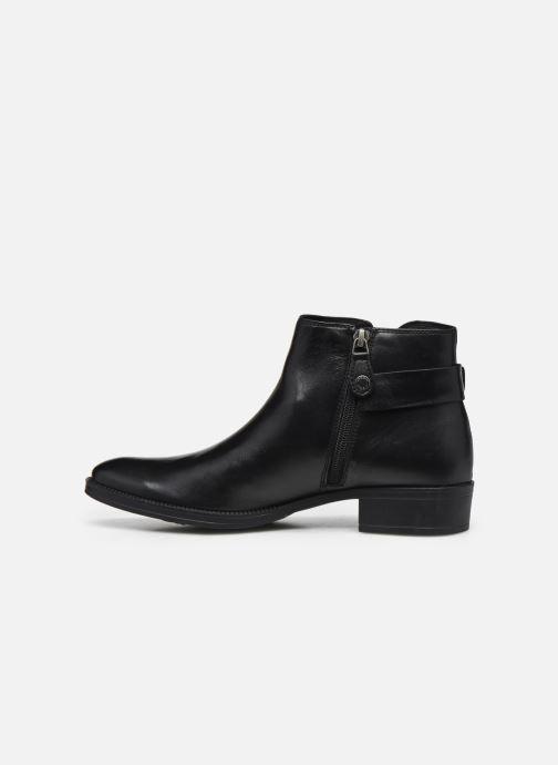 Bottines et boots Geox D LACEYIN D04BFA Noir vue face