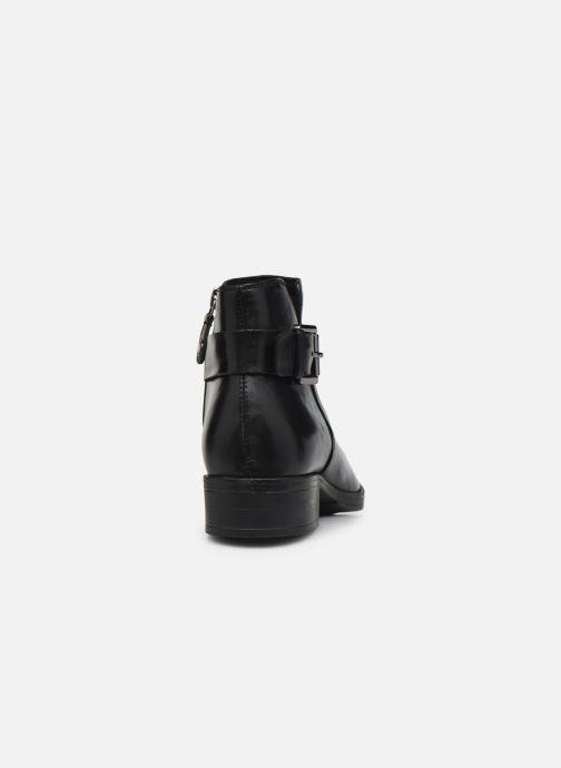 Bottines et boots Geox D LACEYIN D04BFA Noir vue droite