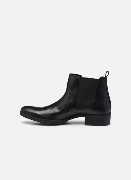 Bottines et boots Geox D LACEYIN D04BFB Noir vue face