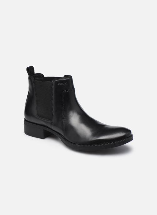 Bottines et boots Geox D LACEYIN D04BFB Noir vue détail/paire