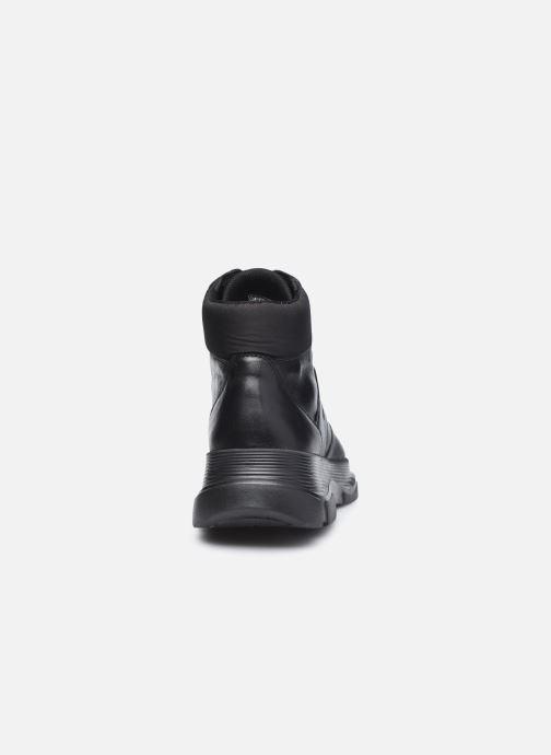 Sneaker Geox D MACAONE schwarz ansicht von rechts