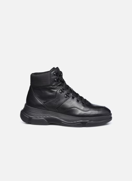 Sneaker Geox D MACAONE schwarz ansicht von hinten
