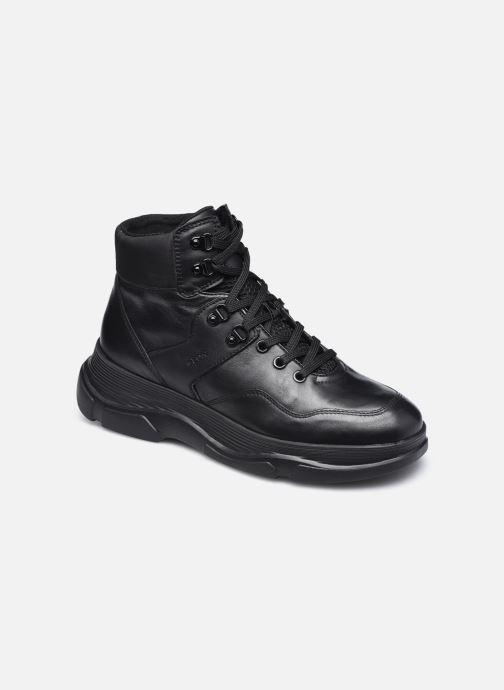 Sneaker Geox D MACAONE schwarz detaillierte ansicht/modell