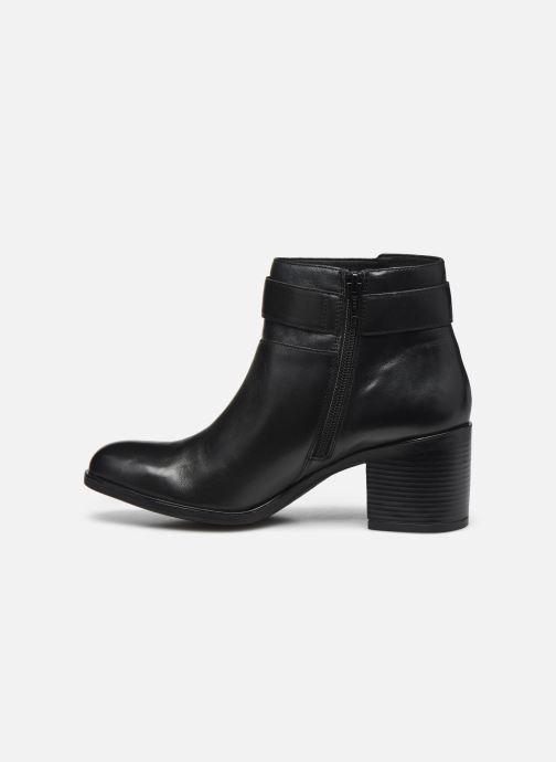 Stiefeletten & Boots Geox D NEW ASHEEL D04FSB schwarz ansicht von vorne