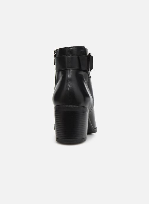 Stiefeletten & Boots Geox D NEW ASHEEL D04FSB schwarz ansicht von rechts