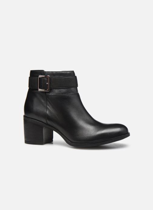 Stiefeletten & Boots Geox D NEW ASHEEL D04FSB schwarz ansicht von hinten
