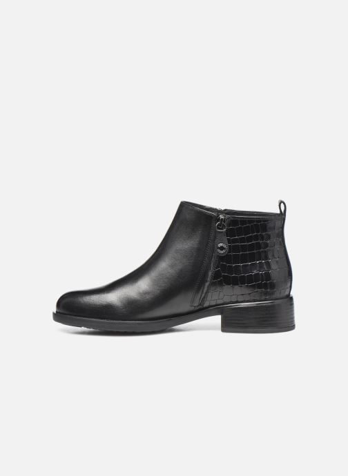 Bottines et boots Geox D RESIA D04LHC Noir vue face
