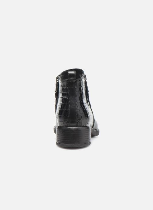 Bottines et boots Geox D RESIA D04LHC Noir vue droite