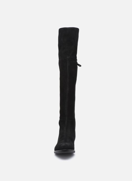 Stiefel Geox D FELICITY D94G1I schwarz schuhe getragen