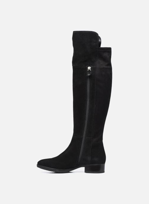 Stiefel Geox D FELICITY D94G1I schwarz ansicht von vorne