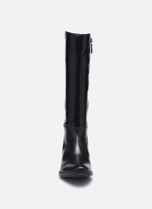 Bottes Geox D LACEYIN D04BFD Noir vue portées chaussures
