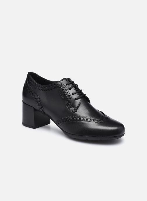Noir Chaussures d/école en cuir synth/étique pour gar/çons
