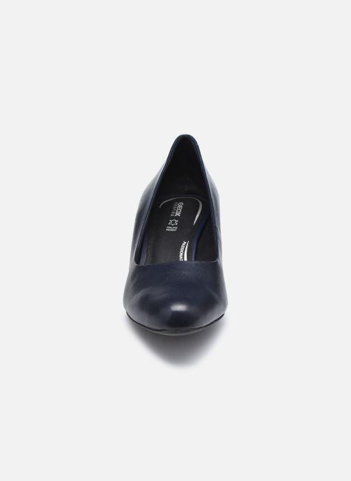 Zapatos de tacón Geox D UMBRETTA D04LBA Azul vista del modelo