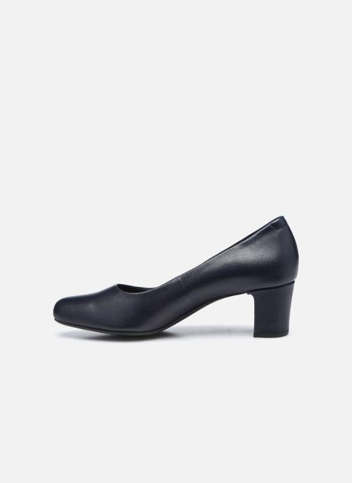 Zapatos de tacón Geox D UMBRETTA D04LBA Azul vista de frente