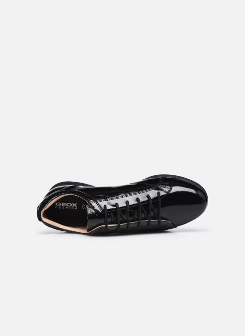 Sneakers Geox D AVERY D04H5B Nero immagine sinistra