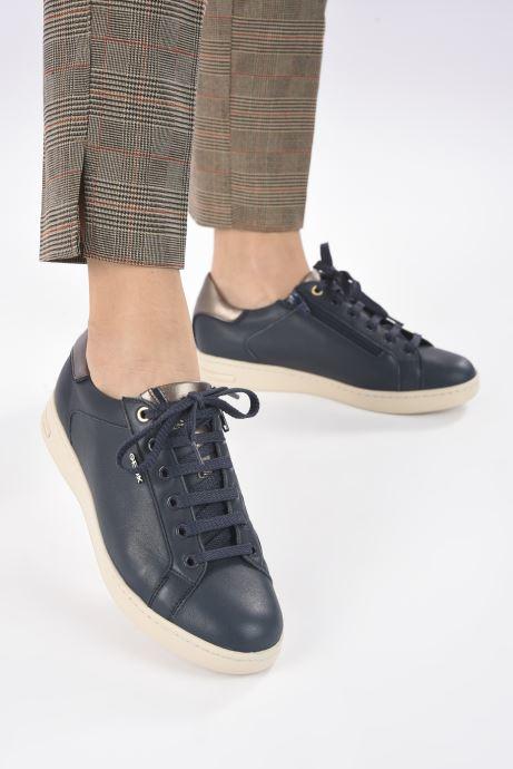 Sneakers Geox D JAYSEN D041BB085 Azzurro immagine dal basso