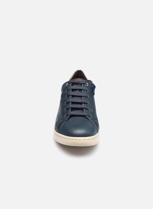 Sneakers Geox D JAYSEN D041BB085 Azzurro modello indossato