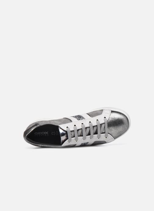Sneaker Geox D JAYSEN D041BD022 grau ansicht von links