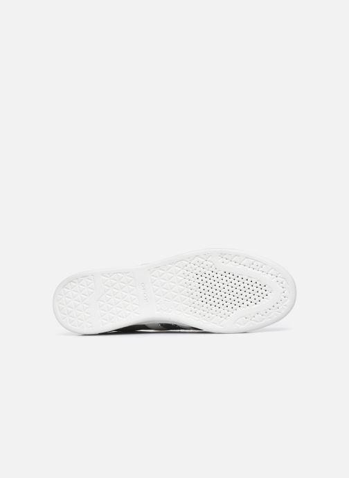 Sneaker Geox D JAYSEN D041BD022 grau ansicht von oben