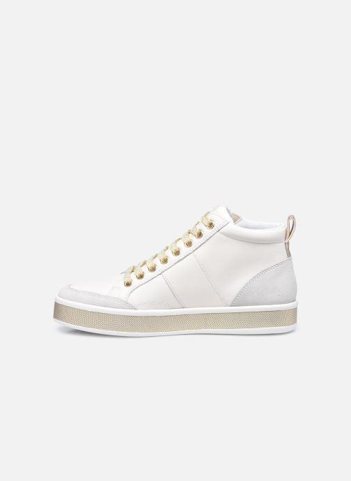Sneaker Geox D LEELU D94FFG08522 weiß ansicht von vorne