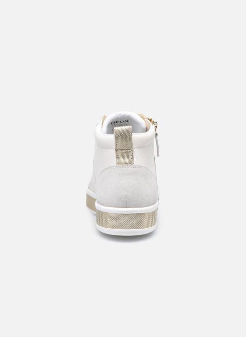 Sneaker Geox D LEELU D94FFG08522 weiß ansicht von rechts