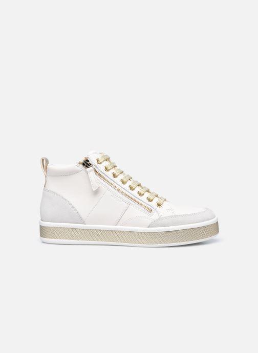 Sneaker Geox D LEELU D94FFG08522 weiß ansicht von hinten