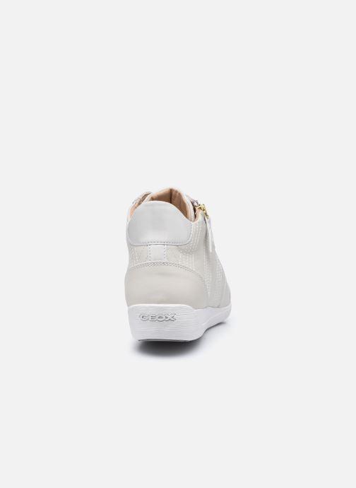 Sneaker Geox D MYRIA D0468B weiß ansicht von rechts