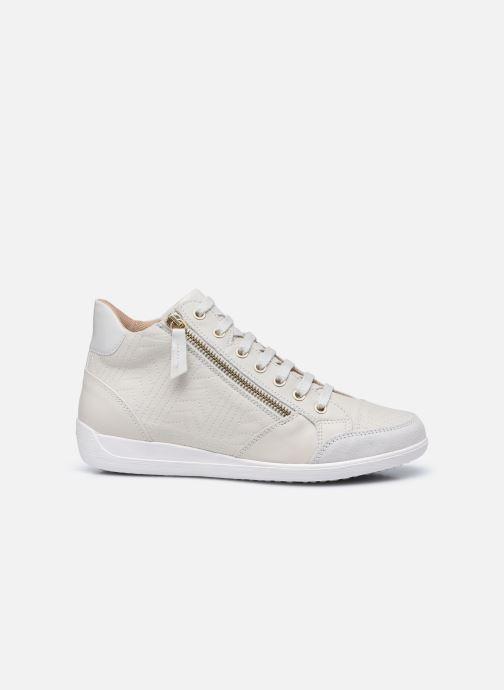 Sneaker Geox D MYRIA D0468B weiß ansicht von hinten