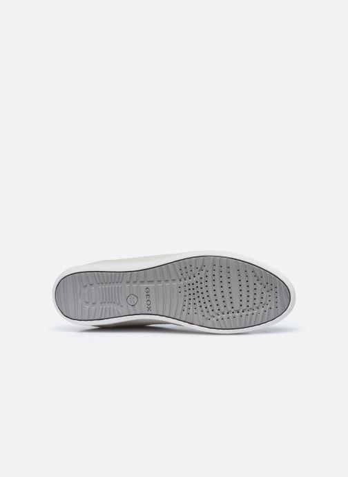 Sneaker Geox D MYRIA D0468B weiß ansicht von oben