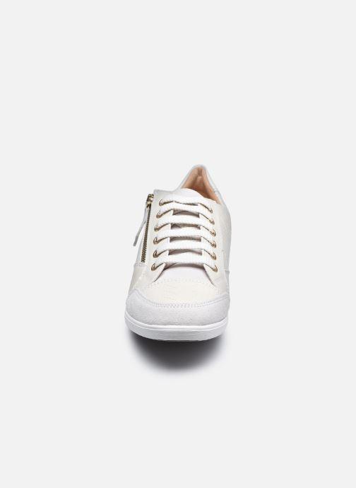 Sneaker Geox D MYRIA D0468D0VI weiß schuhe getragen