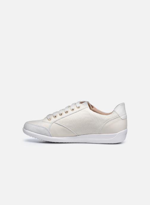 Sneaker Geox D MYRIA D0468D0VI weiß ansicht von vorne