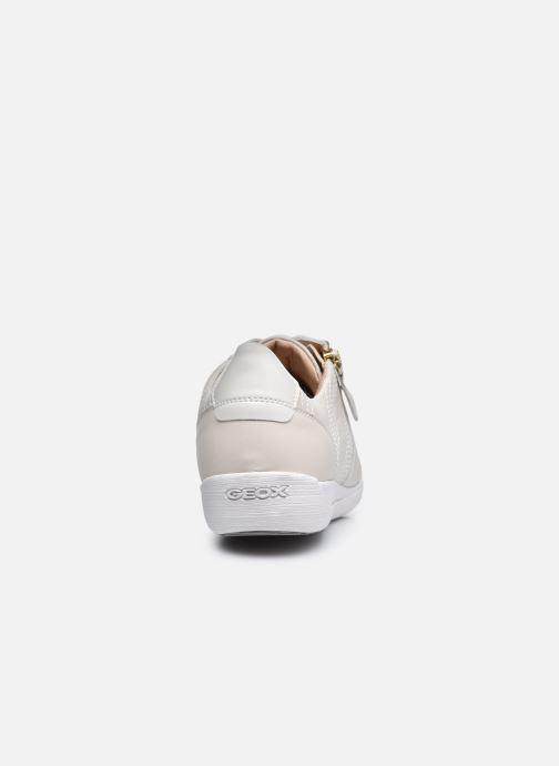Sneaker Geox D MYRIA D0468D0VI weiß ansicht von rechts