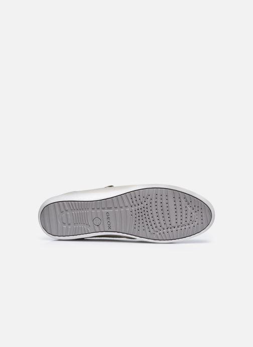 Sneaker Geox D MYRIA D0468D0VI weiß ansicht von oben