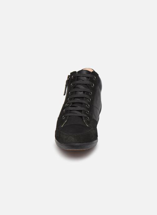 Baskets Geox D MYRIA D0468D Noir vue portées chaussures