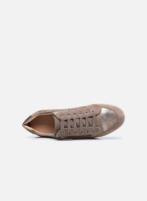 Sneaker Geox D MYRIA D6468A braun ansicht von links
