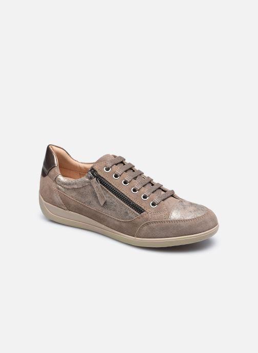 Sneaker Geox D MYRIA D6468A braun detaillierte ansicht/modell