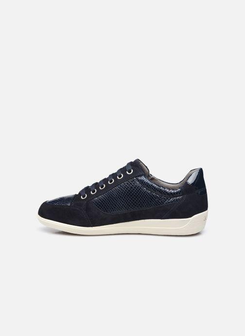 Sneaker Geox D MYRIA D6468A blau ansicht von vorne