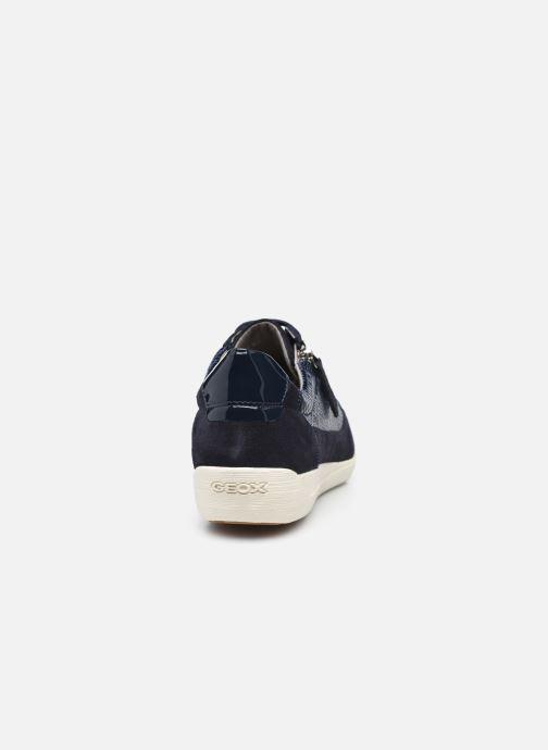 Sneaker Geox D MYRIA D6468A blau ansicht von rechts