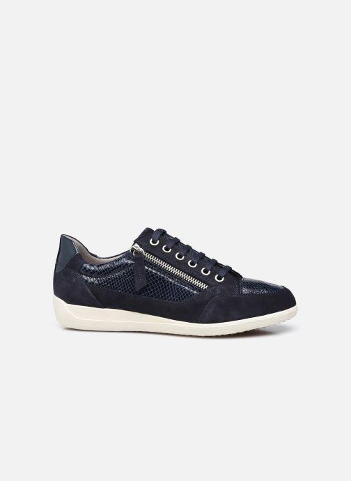 Sneaker Geox D MYRIA D6468A blau ansicht von hinten