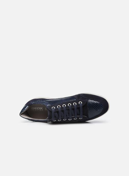 Sneaker Geox D MYRIA D6468A blau ansicht von links