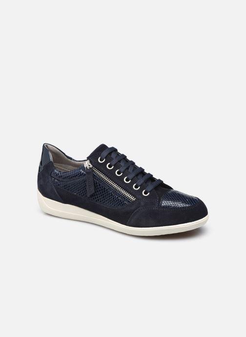 Sneaker Geox D MYRIA D6468A blau detaillierte ansicht/modell