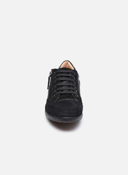 Baskets Geox D MYRIA D6468A085 Noir vue portées chaussures