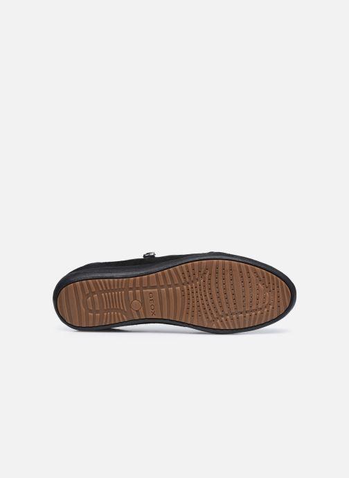 Baskets Geox D MYRIA D6468A085 Noir vue haut