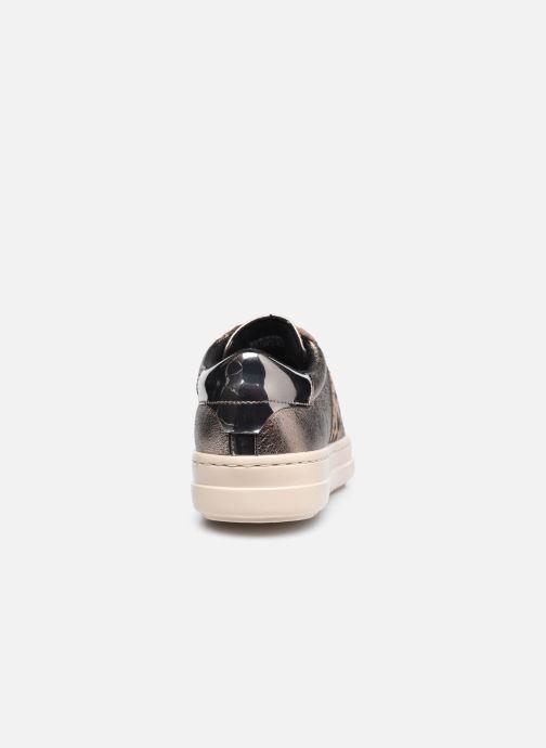 Sneakers Geox D PONTOISE D04FEG Zilver rechts