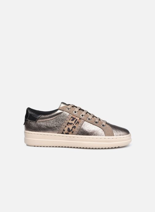 Sneaker Geox D PONTOISE D04FEG silber ansicht von hinten